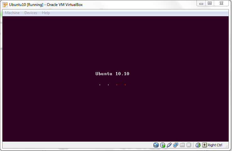 Ubuntu Cargando