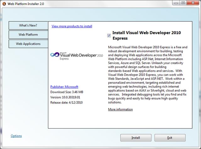 Instalador de Plataformas Web