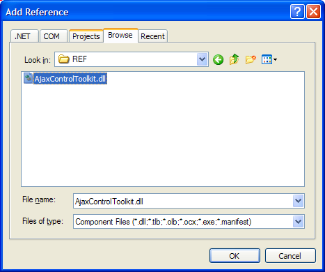 Referencia Ajax Control Toolkit