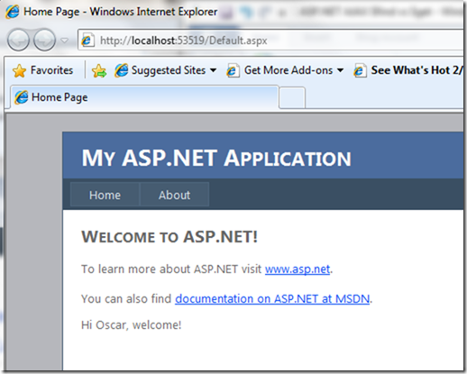 ASP.NET AJAX Sample